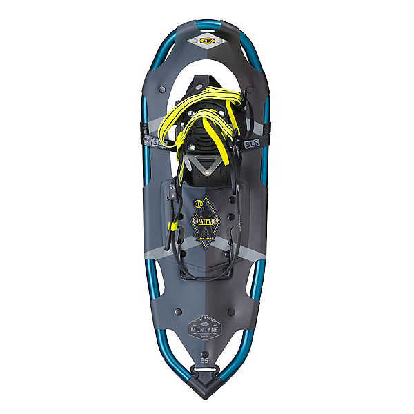 Atlas Montane Snowshoes, Dark Grey-Citron, 600
