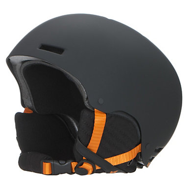 Anon Raider Helmet, Black-Orange, viewer