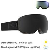 Anon M2 Goggles 2017, Smoke-Dark Smoke + Bonus Lens, medium