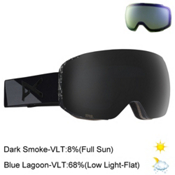 Anon M2 Goggles, Fragment-Dark Smoke + Bonus Lens, medium