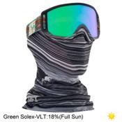 Anon Relapse Jr. MFI Kids Goggles 2017, Hcsc-Green Solex, medium