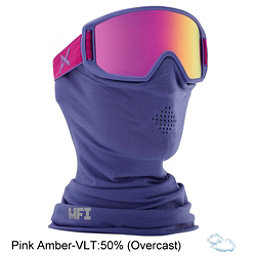Anon Relapse Jr. MFI Kids Goggles 2017, Purple-Pink Amber, 256
