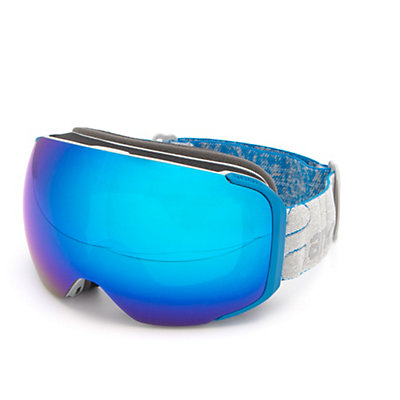 Anon M2 MFI Goggles 2017, Gray-Blue Cobalt + Bonus Lens, viewer