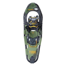 Tubbs Mountaineer Backcountry Snowshoes, Black-Green, 256