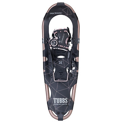 Tubbs Panoramic Womens Snowshoes, Rose Gold-Black, viewer