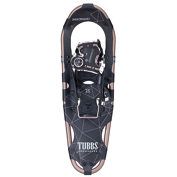 Tubbs Panoramic Womens Snowshoes, Rose Gold-Black, 600