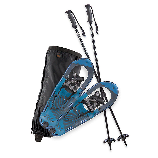 Tubbs Xplore Kit Snowshoes, Slate-Navy, 600