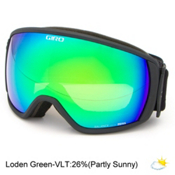 Giro Balance Goggles, Black Wordmark-Loden Green, medium