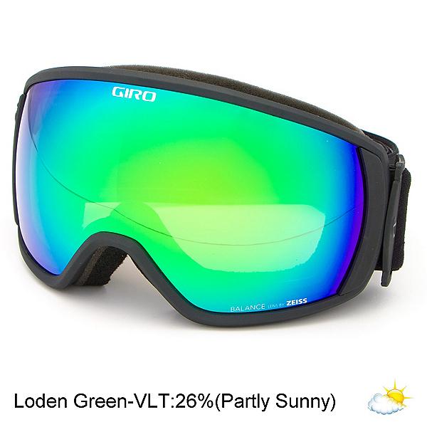 Giro Balance Goggles, Black Wordmark-Loden Green, 600