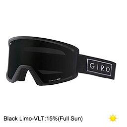 Giro Blok Goggles 2017, Black Bar-Black Limo, 256