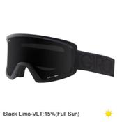 Giro Blok Goggles 2017, Black Dual-Black Limo, medium