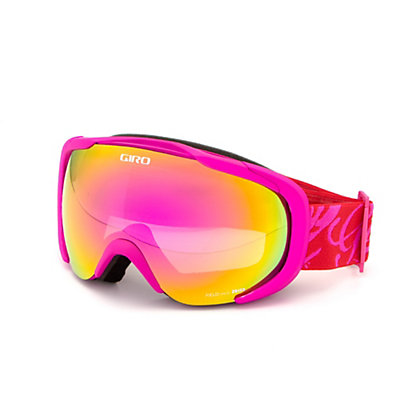 Giro Field Womens Goggles 2017, Magenta-Red Tropical-Amber Pin, viewer