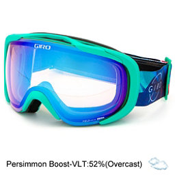 ladies ski goggles sfjb  Giro Field Womens Goggles 2017, Turquoise Northern Exposure-Pe, 256