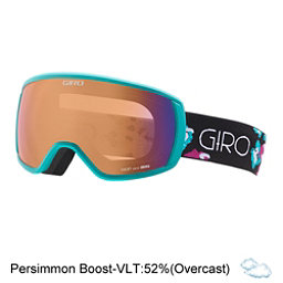 Giro Facet Womens Goggles 2017, Turquoise-Berry Flowers-Persim, 256
