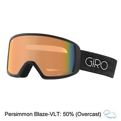 Giro Gaze Womens Goggles, Black Pocket Square-Amber Pink, viewer