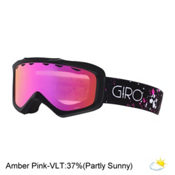 Giro Grade Kids Goggles 2017, Black-Magenta Speckle-Amber Pi, medium