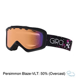 Giro Grade Kids Goggles, Black-Magenta Speckle-Persimmo, 256