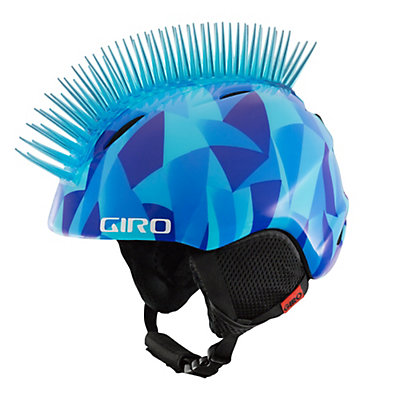 Giro Launch Plus Kids Helmet 2017, Blue Icehawk, viewer