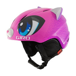 Giro Launch Plus Kids Helmet 2017, Pink Meow, 256