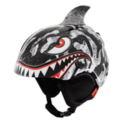 Giro Launch Plus Kids Helmet 2017, Black-Grey Tiger Shark, medium