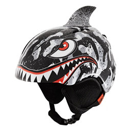 Giro Launch Plus Kids Helmet 2017, Black-Grey Tiger Shark, 256
