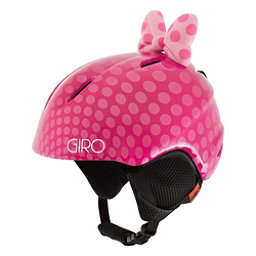 Giro Launch Plus Kids Helmet 2017, Pink Bow Polka Dots, 256