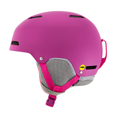 Giro Crue MIPS Kids Helmet 2017, Berry-Magenta, viewer