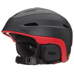 Giro Zone MIPS Helmet 2017, Matte Black-Bright Red, 256