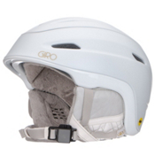 Giro Strata MIPS Womens Helmet 2017, Matte White Deco, medium