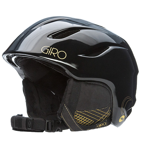 Giro Era MIPS Womens Helmet, Black-Gold Stellar, 600