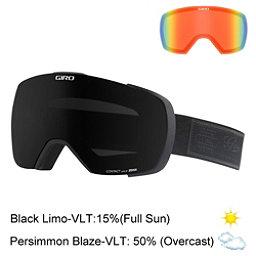 Giro Contact Goggles, Black Blazer-Black Limo + Bonus Lens, 256