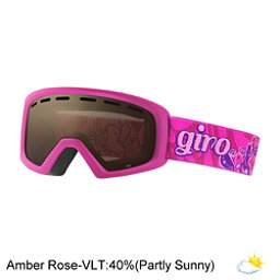 Giro Rev Kids Goggles, Berry-Magenta Butterflies-Ambe, 256