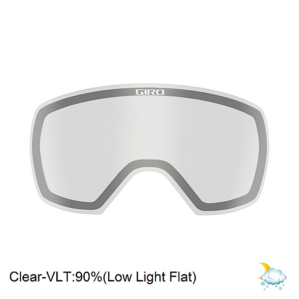 Giro Contact Goggle Replacement Lens 2018, Clear, 600