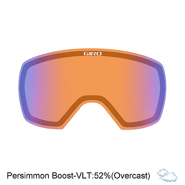 Giro Contact Goggle Replacement Lens 2017, Persimmon Boost, 600