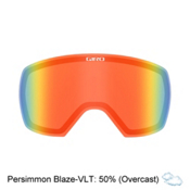 Giro Contact Goggle Replacement Lens 2017, Persimmon Blaze, medium