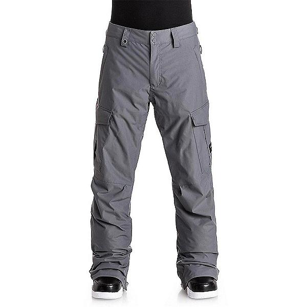 Quiksilver Porter Shell Mens Snowboard Pants, Quiet Shade, 600