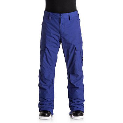Quiksilver Porter Shell Mens Snowboard Pants, Navy Blazer, viewer