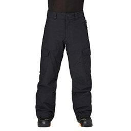 Quiksilver Porter Shell Mens Snowboard Pants, Black, 256