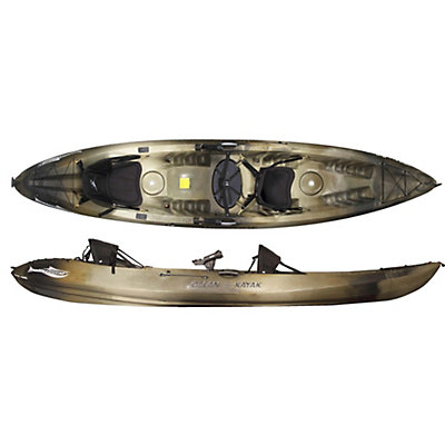 Ocean Kayak Malibu 2XL Angler Kayak 2016, Brown Camo, viewer