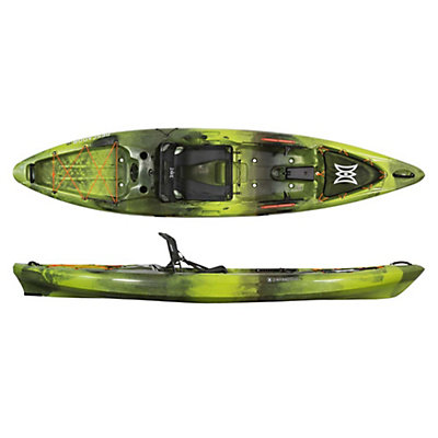 Perception Pescador Pro 12.0 Fishing Kayak 2017, Moss Camo, viewer