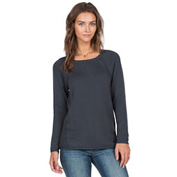 Volcom Air It Out Crew Womens Sweater, Dark Navy, 256