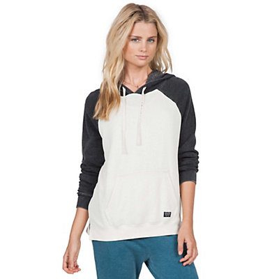 Volcom Lived In CB Pullover Hoody, Vintage White, viewer