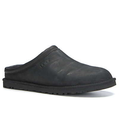 UGG Classic Clog Mens Casual Shoes, Black, viewer