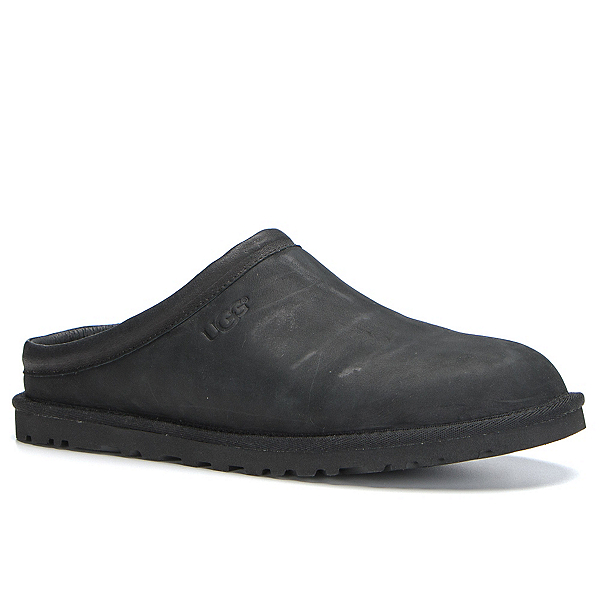 UGG Classic Clog Mens Casual Shoes, Black, 600