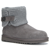 UGG Darrah Girls Boots, Grey, medium