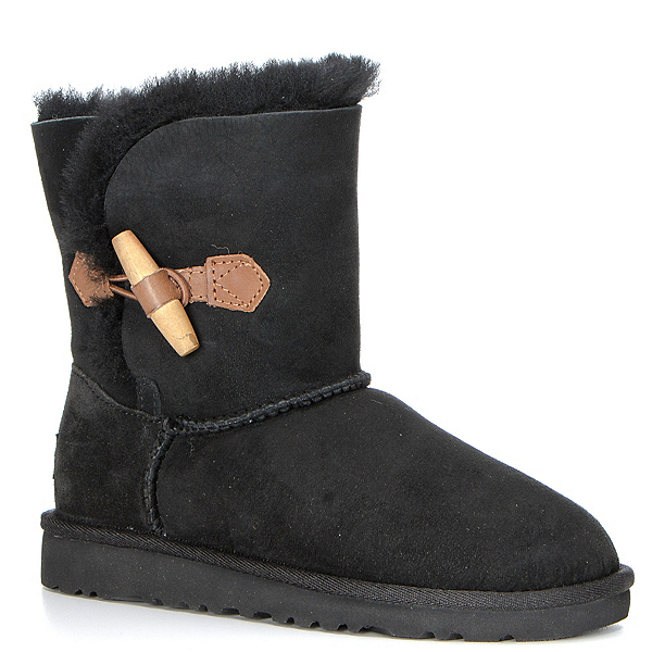 UGG Ebony Girls Boots, Black, 600