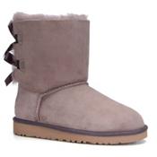 UGG Bailey Bow Girls Boots, Stormy Grey, medium