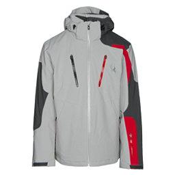 Spyder Dispatch Mens Insulated Ski Jacket, Cirrus-Polar-Red, 256