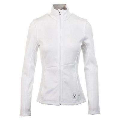 Spyder Core Jewel Mid WT Womens Sweater, White, viewer