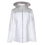 Spyder Entice Womens Insulated Ski Jacket, White, medium